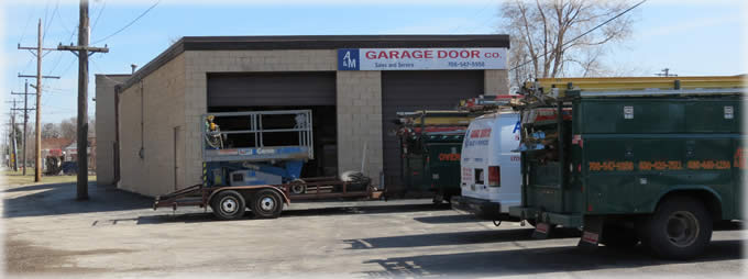 A M Overhead Garage Door In Hillside Illinois